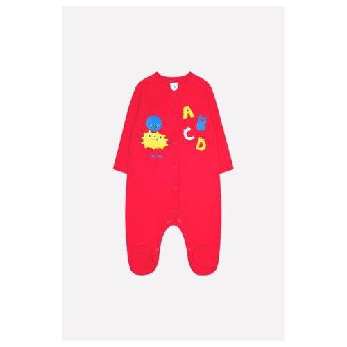 Комбинезон crockid размер 80, насыщенно-красный (динозавры) платье crockid размер 134 насыщенно красный