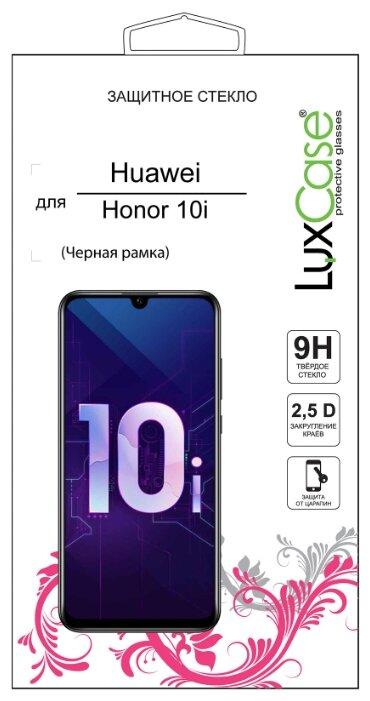 Защитное стекло LuxCase 2.5D для Honor 10i черный фото 1