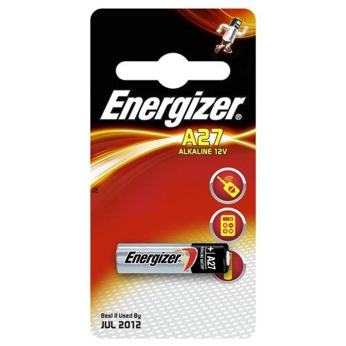 Фото - Батарейка Energizer A27, 1 шт. батарейка energizer max plus aa 4 шт