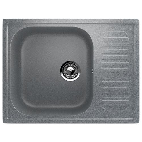 Врезная кухонная мойка 64 см Ulgran U-202 309 темно-серый врезная кухонная мойка 56 см ulgran u 104 309 темно серый