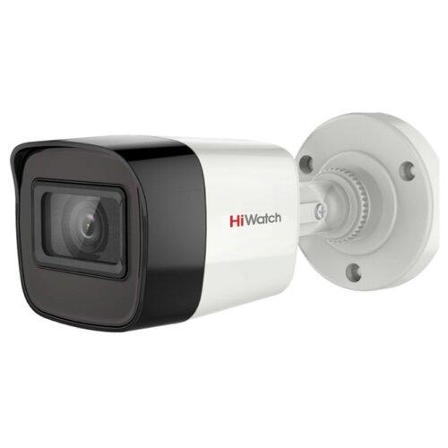 Фото - Камера видеонаблюдения HiWatch DS-T500A (6 мм) белый/черный камера видеонаблюдения hiwatch ds t203 b 6 мм белый