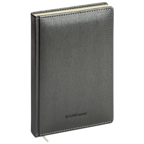 Купить Ежедневник ErichKrause Sideral недатированный, искусственная кожа, А5, 168 листов, графит, Ежедневники, записные книжки