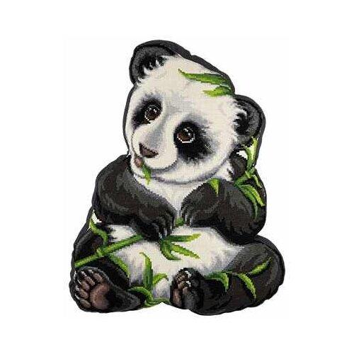 Купить PANNA Набор для вышивания Подушка Моя панда 34 х 43 см (ПД-1910), Наборы для вышивания