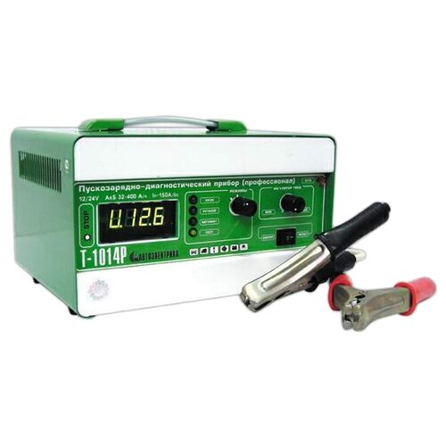 Пуско-зарядное устройство Автоэлектрика Т-1014Р зеленый зарядное