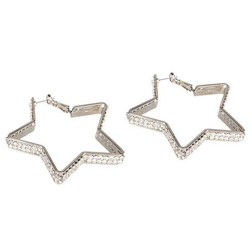 Ann Devine Серьги-звездочки с кристаллами Diamond Star