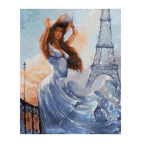 Фото - ВанГогВоМне Картина по номерам Белые краски Парижа, 40х50 см (ZX 22059) вангогвомне картина по номерам любовь к кофе 40х50 см zx 22277