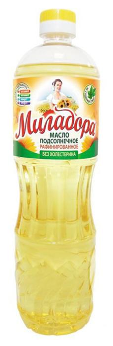 Миладора Масло подсолнечное рафинированное дезодорированное