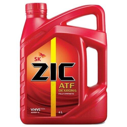 Фото - Масло трансмиссионное ZIC ATF Dexron 6 4 4 л коробка передач масло zic atf dexron 6 1 л