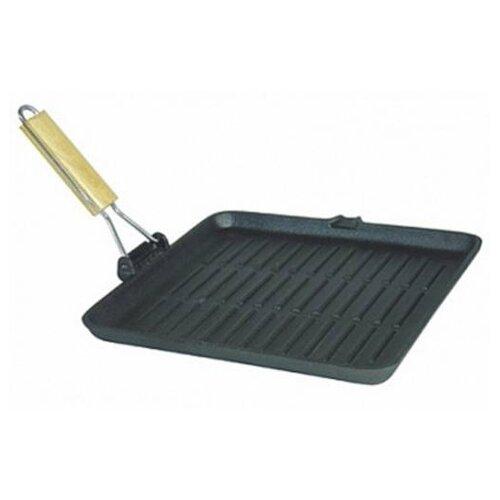 Сковорода-гриль Myron Cook Tradition MC7205 20,5 x 20.5 см, съемная ручка, черный цена 2017