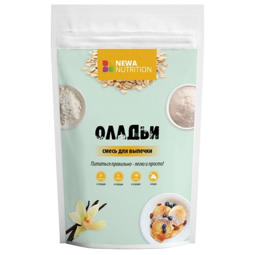 Фото - NEWA Nutrition смесь для выпечки Оладьи, 0.2 кг смесь для десерта newa nutrition пудинг шоколадный вкус 150 г
