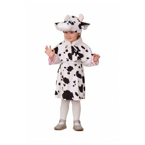 Купить Костюм Батик Коровка Пятнашка черно-белая (21), белый/черный, размер 110, Карнавальные костюмы