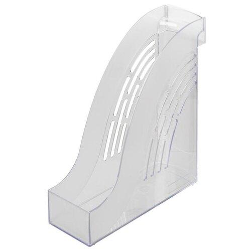 Купить Лоток вертикальный для бумаги Index Wave IT826 прозрачный, Лотки для бумаги