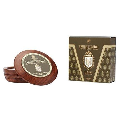 Купить Мыло для бритья Luxury Shaving Soap в деревянной чаше Truefitt & Hill, 99 г