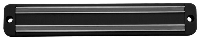 Держатель Для Ножей Магнитный 19,5См, Черный, Пластик/Металл Jh60-46 Мультидом