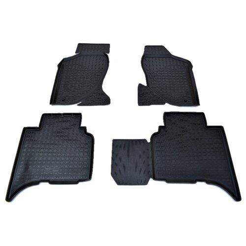 Комплект ковриков NorPlast NPL-Po-29-33 4 шт. черный комплект ковриков norplast npl po 29 33 4 шт черный