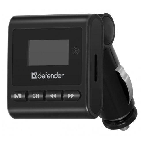 цена FM-трансмиттер Defender RT-Basic черный онлайн в 2017 году