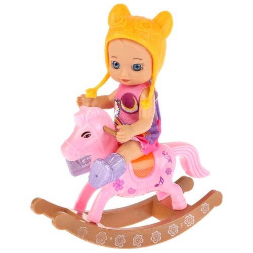 цена на Кукла Карапуз Hello Kitty, 12 см, YL1701P-RU-HK
