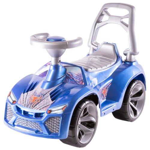 Купить Каталка-толокар Orion Toys Ламбо (021) со звуковыми эффектами синий, Каталки и качалки