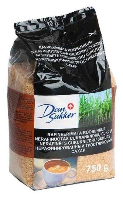 Сахар Dansukker тростниковый сахар-песок коричневый
