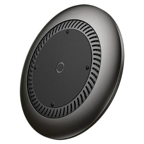 Фото - Беспроводная зарядка Baseus Whirlwind Desktop Черная беспроводная сетевая зарядка baseus whirlwind desktop wireless charger черный