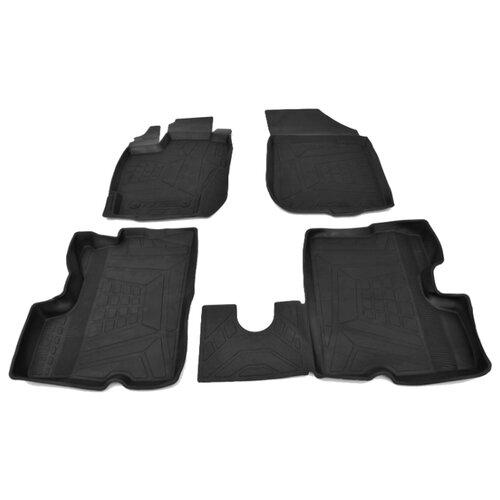 Комплект ковриков AVD Tuning ADRPLR279 Nissan Terrano 4 шт. черный комплект ковриков avd tuning adrplr016 chevrolet captiva 4 шт черный