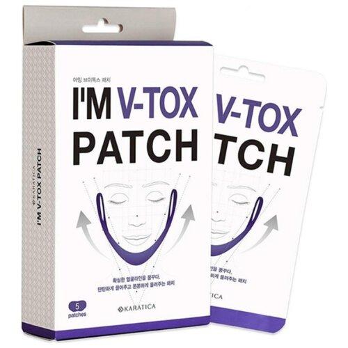 Купить Karatica I'm V-tox Patch маска-патч для поддержания овала лица, 13 г, 5 шт.