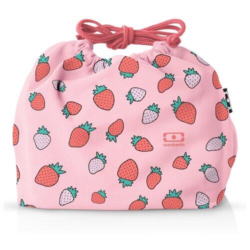 Monbento Мешочек для ланча MB Pochette, 17x19 см, strawberry недорого