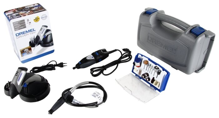 Набор электроинструмента, кол-во: 2 шт. Dremel F0130300SC