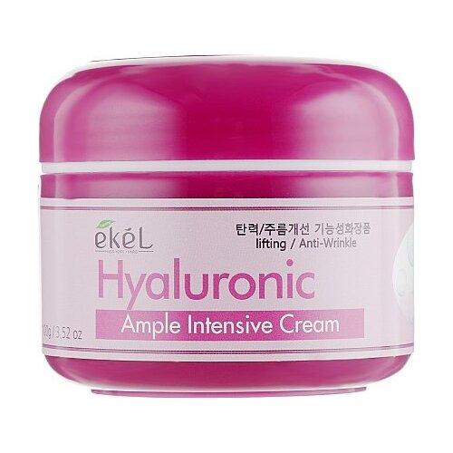 Купить Ekel Ample Intensive Cream Hyaluronic Крем для лица с гиалуроновой кислотой, 100 г