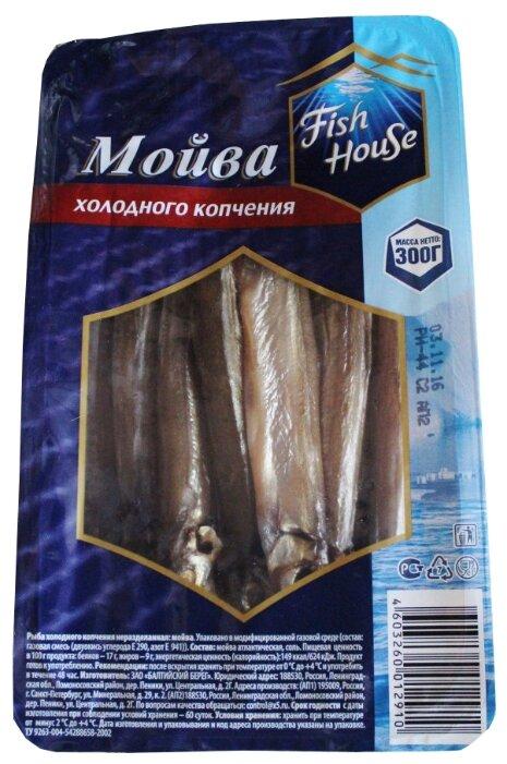 Fish House Мойва холодного копчения