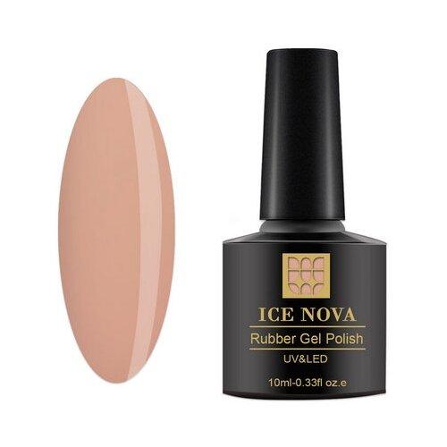Гель-лак для ногтей ICE NOVA Rubber Gel Polish, 10 мл, 116 гель лак для ногтей ice nova rubber gel polish 10 мл 185