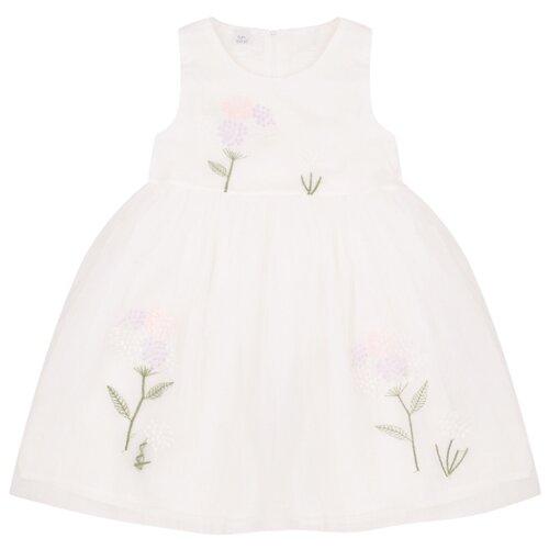 Купить Платье Fun time размер 98, белый, Платья и сарафаны