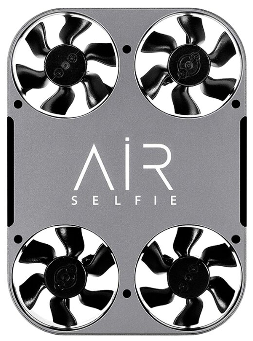 Квадрокоптер Airselfie 2 Power Edition серебристый