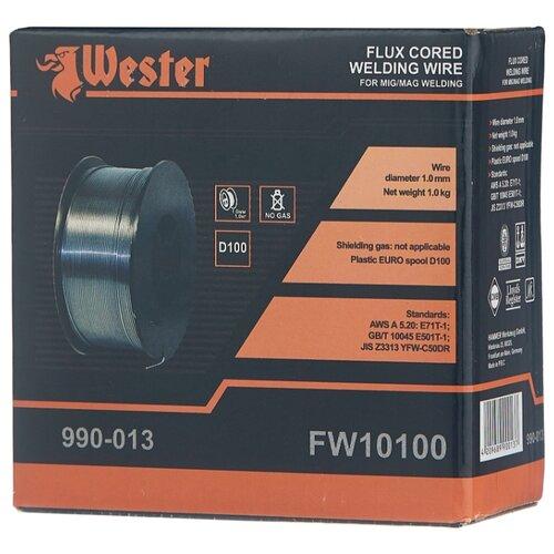 Проволока из металлического сплава Wester FW10100 1мм 1кг проволока из металлического сплава барс er 70s 6 0 8мм 1кг