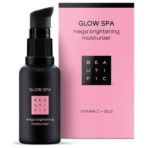 BEAUTIFIC Glow SPA Mega Brightening Moisturizer Многофункциональный совершенствующий крем для лица с витамином С и годжи, 30 мл
