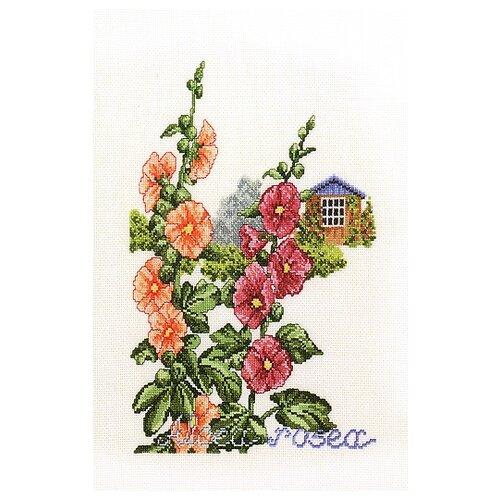 Купить Набор для вышивания Дом в цветах, лён 32 ct, EVA ROSENSTAND, Наборы для вышивания