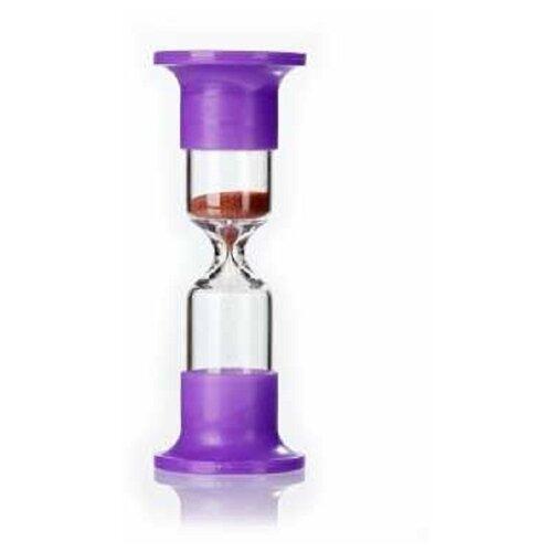 Фото - Часы песочные на 1 минуту стеклянные, Еврогласс, 115х19 мм, песок кварцевый песочные часы настольные на пятнадцать минут чпн 15 еврогласс