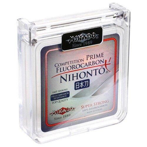 Флюорокарбоновая леска MIKADO Nihonto Fluorocarbon Prime бесцветный 0.4 мм 30 м 10.35 кг