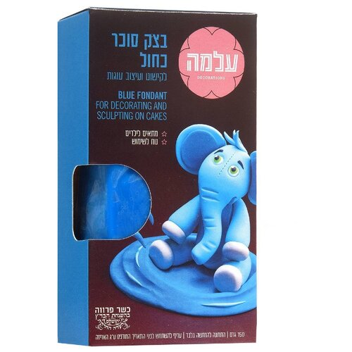 Фото - ALMA мастика сахарная 150 г синий мастика гандбольная trimona handballwax