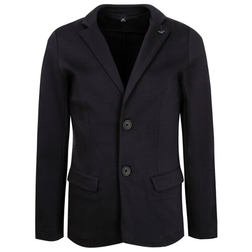 Купить Пиджак EMPORIO ARMANI размер 152, синий, Пиджаки