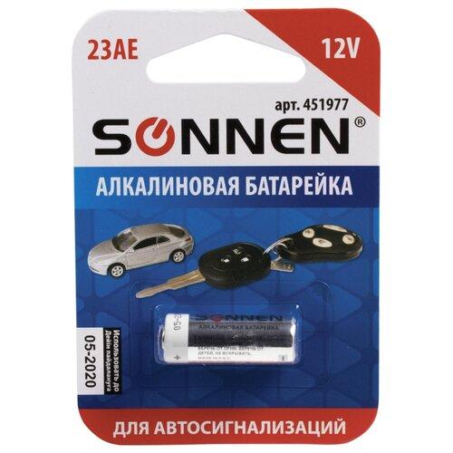 Фото - Батарейка SONNEN 23А MN21, 1 шт. батарейка sonnen cr2032 1 шт блистер