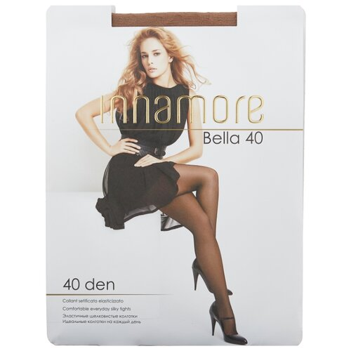 Колготки Innamore Bella 40 den, размер 5-XL, daino (бежевый) колготки innamore fleur 40 den размер 4 l daino бежевый