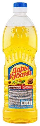 Благо Масло подсолнечное Дары Кубани нерафинированное