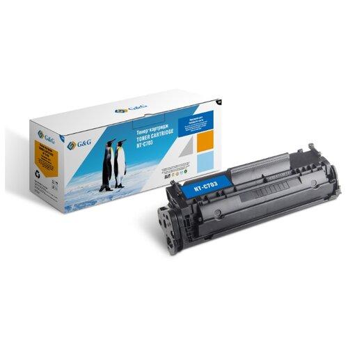 Фото - Картридж лазерный G&G NT-C703 черный (2000стр.) для Canon LBP2900/3000Series площадка giotto s g mh601 90мм для адаптера g mh621