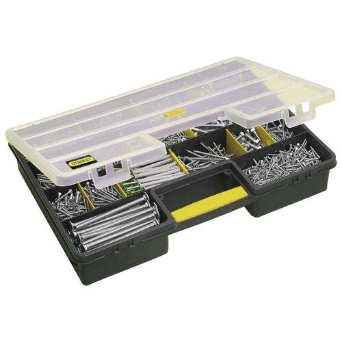 Органайзер STANLEY 1-92-762 46x33.5x8 см черный/желтый органайзер stanley 1 93 980 36 5x15 5x22 5 см черный