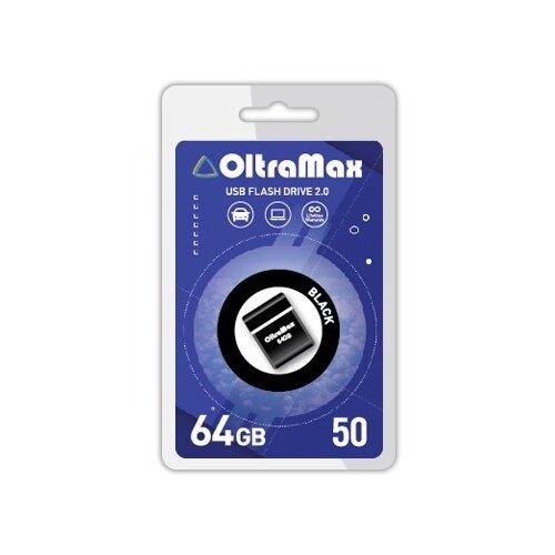 Флешка OltraMax 50 64GB black