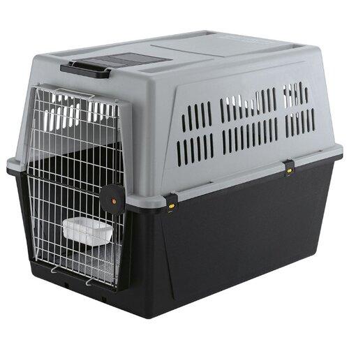 Клиппер-переноска для собак Ferplast Atlas 70 Professional 101х68.5х76 см серый/черный