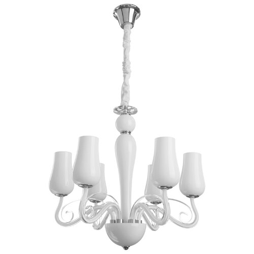 Люстра Arte Lamp Biancaneve A8110LM-6WH, E14, 240 Вт люстра arte lamp camomilla a6049pl 6wh e27 240 вт