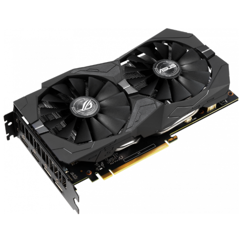 Видеокарта ASUS ROG GeForce GTX 1650 1485MHz PCI-E 3.0 4096MB 8002MHz 128 bit 2xDisplayPort 2xHDMI HDCP Strix Gaming Advanced Retail видеокарта asus geforce® gtx 1060 rog strix gtx1060 o6g gaming 6гб gddr5 retail