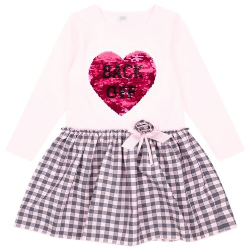 Купить Платье Fun time размер 116, розовый, Платья и сарафаны